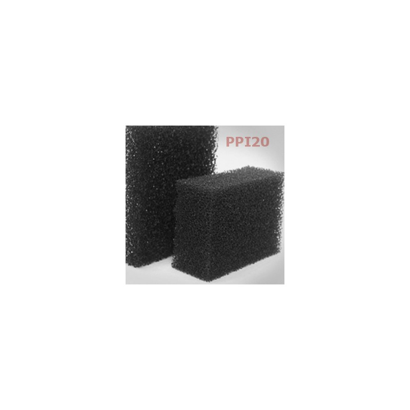 Mata, pianka filtracyjna PPI20 - 10mm
